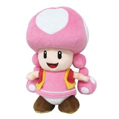 Little Buddy LLC, Super Mario All Star Collection: Toadette Plush Super Mario All Stars, Super Mario Bros, Mario Toys, Puppets For Kids, Mario Birthday Party, Mario Kart, Plush Dolls, Teddy Bear, Nintendo