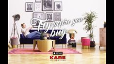 The app can bring KARE furniture into your own four walls as objects using your camera viewer or just plan your future home with our planning tool. Joy Of Living, Boho Living Room, Cozy Living, Kare Design, Top Furniture Stores, Furniture Making, Furniture Websites, Clean My Space, Inexpensive Furniture