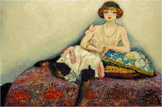 Les Femmes en Art. Femme aux bas noirs (c. 1907) Huile sur toile (130 x 196). Découvrez d'autres idées sur http://fr.pinterest.com/LaBelleEchappee/ et http://fr.pinterest.com/francoisefrance/