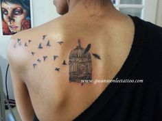 Birds Flying Tattoo On Shoulder | Geek Green Wallpapers