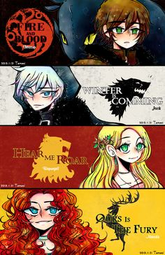 The Big Four labels. I think they got some of them wrong. Like Merida should have the bear label, not Rapunzel. lol
