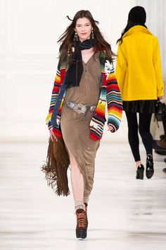 Ralph Lauren Fall 2014 Ready-to-Wear Runway - Ralph Lauren Ready-to-Wear Collection