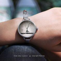 Star Girl Classic Rower-zegarek w Ewa Saj na DaWanda.com