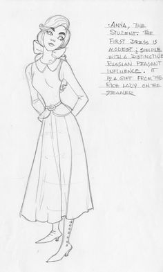 Anastasia - student gown