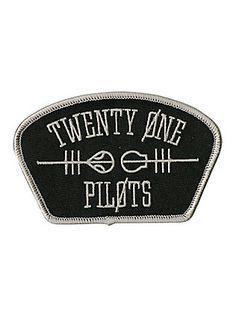 Twenty One Pilots Shoulder Logo Iron-On Patch,