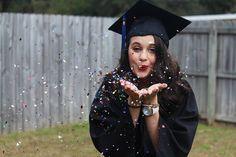 Graduation pictures! #Confetti