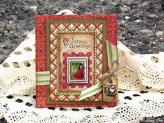 Tara Orr #Christmas #Card #Graphic45