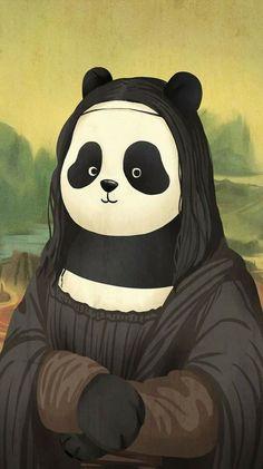 Cartoon Wallpaper, Cute Panda Wallpaper, Bear Wallpaper, We Bare Bears Wallpapers, Panda Wallpapers, Cute Wallpapers, Niedlicher Panda, Bored Panda, Image Panda