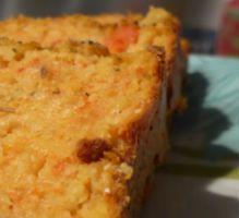 Recette - Cake croustillant à la carotte et à la polenta - Proposée par 750 grammes
