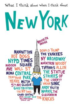 New York - If you can make it here, you can make it anywhere, that's what they say!