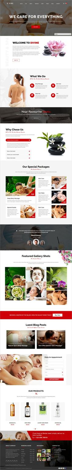 Divine is a premium responsive 2in1 #WordPress theme designed for all type of #cosmetic websites such as #spa, salon, #wellness and beauty's shop download now➩ https://themeforest.net/item/divine-salon-spa-premium-wordpress-theme/19163402?ref=Datasata