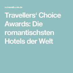 Travellers' Choice Awards: Die romantischsten Hotels der Welt