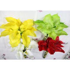 A-2 32CM 12 flowers calla lily bouquet