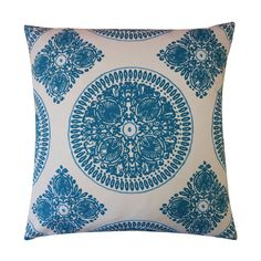 Tessa Pillow in Teal - Marrakesh Market on Joss and Main