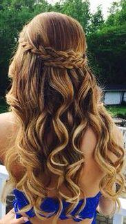 Omg beautiful hairstyle? Wish I had that... :)