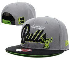 Chicago Bulls NBA Hats Gray ID:6755