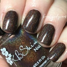 Oh My Ganache Holographic Nail Polish by KBShimmer