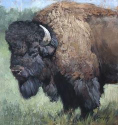 Résultat d'images pour Charging American Bison Paintings Buffalo Animal, Buffalo Art, Buffalo Ranch, American Bison, Native American Art, Animal Bufalo, Le Bison, Buffalo Pictures, Buffalo Painting