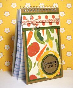 Fun Grocery List Pad!