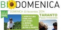 Torna la Biodomenica in Puglia