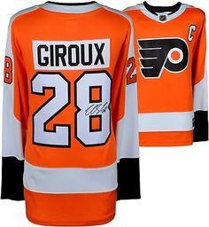 Framed Claude Giroux Philadelphia Flyers Signed Orange Fanatics Breakaway Jersey for sale online Bobby Hull, Wells Fargo Center, Nhl Jerseys, Philadelphia Flyers, National Hockey League, Style Me, Orange, Sports, Hologram