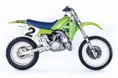 1985 Kawasaki KX250 Works Bike - Jeff Ward