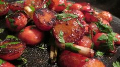 Balsamic Glazed Spring Radishes