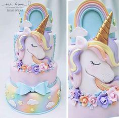 Unicornio cake