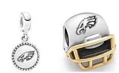 Ready for football with the Eagles NFL Pandora charms!