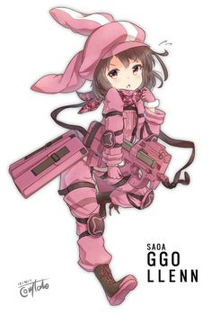 Llenn || Sword Art Online Alternative Gun Gale Online