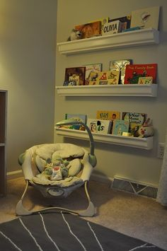These Are Shelves From Ikea Work Perfectly For Displaying Babies - Baby bookshelves