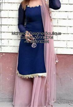 Palazzo Pants With Kurti,, Casual Indian Fashion, Pakistani Fashion Party Wear, Pakistani Dresses Casual, Indian Fashion Dresses, Pakistani Dress Design, Fancy Dress Design, Stylish Dress Designs, Designs For Dresses, Designer Party Wear Dresses