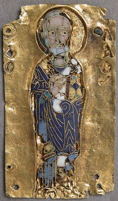 Medallion of St. Nicholas. 11th century, Byzantine. The Met