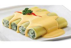 Canelones Italianos. ¡Pasta doblemente deliciosa!