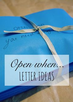 Trendy gifts for friends diy bff open when letters Ideas