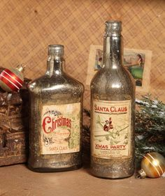Christmas Bottle - The Holiday Barn