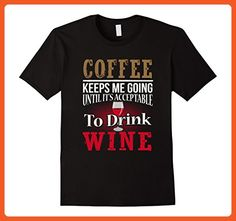 Mens Funny Wine Lover Shirt Alcohol Enthusiast Father Day Gift  Medium Black - Holiday and seasonal shirts (*Partner-Link)