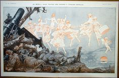Hérouard - LVP centerfold - 1917 - The Dream With All Our Apologies To Edouard Detaille Edouard Detaille, Another World, French Artists, Illustration Art, Painting, Magic, Vintage, Illustrations, World War I