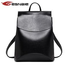Cheap leather women backpack, Buy Quality backpack large directly from China backpack bicycle Suppliers: Fashion Women Backpack New Youth Leather Backpacks for Teenage Girls Female School Shoulder Bag Bagpack mochila sac a do