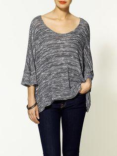 Cape Pullover Sweater