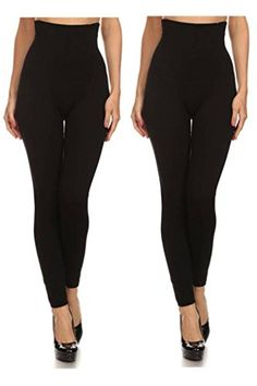 0945c4e76119c These high waist leggings have a compression control top that flattens your  tummy and contours your waistline for an hourglass silhouette. Waist (at  top)  (