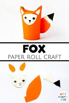 Looking for easy woodland animal crafts for kids to make at home or preschool? These toilet paper roll fox crafts for kids are simple for children to make. Get instructions for these fox toilet paper crafts for kids + other autumn crafts for kids to make here! Fun Easy Fall Crafts for Kids to Make | Cute Fall Crafts for Kids Autumn | Toilet Paper Roll Crafts Animals | Toilet Paper Roll Crafts for Kids Animals | Easy Fox Crafts for Kids Woodland Animals Forest Friends #FoxCrafts #FallCrafts Paper Animal Crafts, Forest Animal Crafts, Fox Crafts, Animal Crafts For Kids, Toilet Paper Roll Crafts, Paper Animals, Animals For Kids, Easy Fall Crafts, Quick Crafts