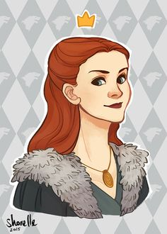 game of thrones - sansa stark by shorelle on DeviantArt