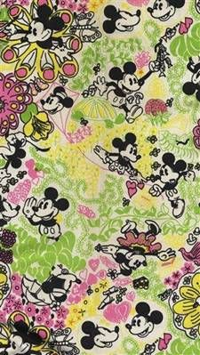 Lilly Pulitzer Ode To Disney Muffy Martini: The Preppy Princess on PRINTS.