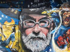 Street Art around Brick Lane in East London. This part of London has always been very diverse and multicultural. Lots of fun street art and some by very famous people. This art is continually changing of course. Mr Brainwash, Street Art London, London Photographer, Terry Pratchett, Geek Out, Street Art Graffiti, City Style, Public Art, Urban Art