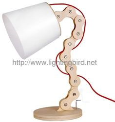 wooden lamp desk lamp Fine wooden lamp Home wood lamp: