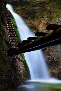 Slovak Paradise, Slovakia Central Europe, Bratislava, Hungary, Touring, Waterfall, National Parks, Beautiful Places, Paradise, Around The Worlds