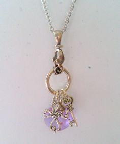 Mustard Seed necklace Purple mustard seed charm by ForgotMeNot, $25.00