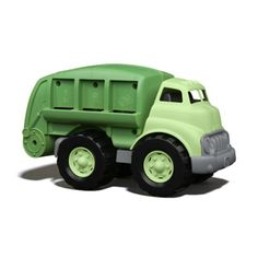 $27.99 - Sort bottles, cans, and paper or just have a blast. Your eco-conscious little one will learn recycling basics while playing with this super cool recycling truck that has a movable recycling bed and open/shut rear door. The awesome eco-design has no metal axles. Interested in Eco Friendly Toys? Click here and see all we have to offer!The Green Toys Recycling Truck is Made in the USA from 100% recycled plastic milk containers that save energy and help reduce greenhouse gas…