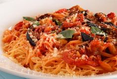 Cookbook Recipes, Pasta Recipes, Vegan Recipes, Cooking Recipes, Greek Recipes, Allrecipes, Food Inspiration, Main Dishes, Spaghetti